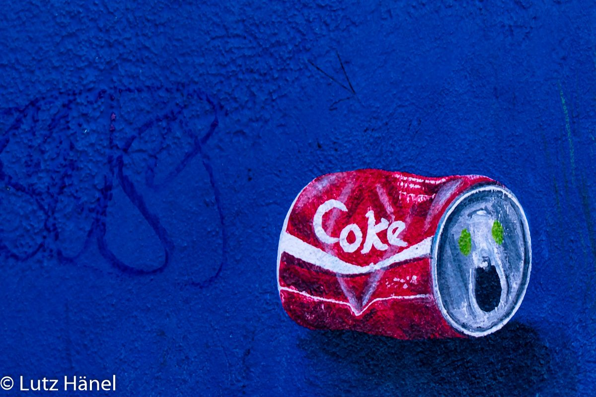 Cokedose Foto von der East Side Gallery - Graffiti & Urban-Art-Foto-Tour