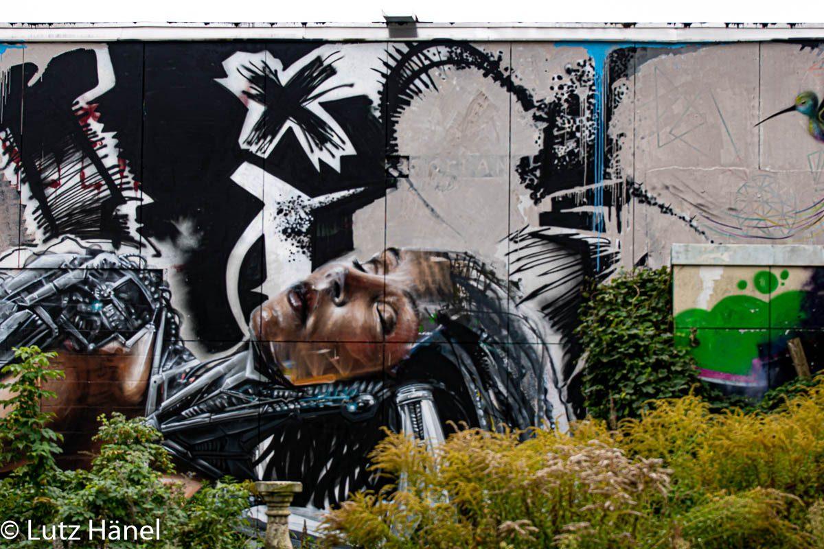 der Teufelsberg ist wohl eine der als größte und höchstgelegene Street Art Galerie von Graffiti & Street-Art.