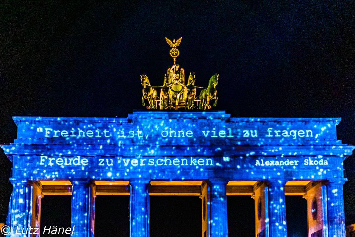 Berlins Symbol der Freiheit