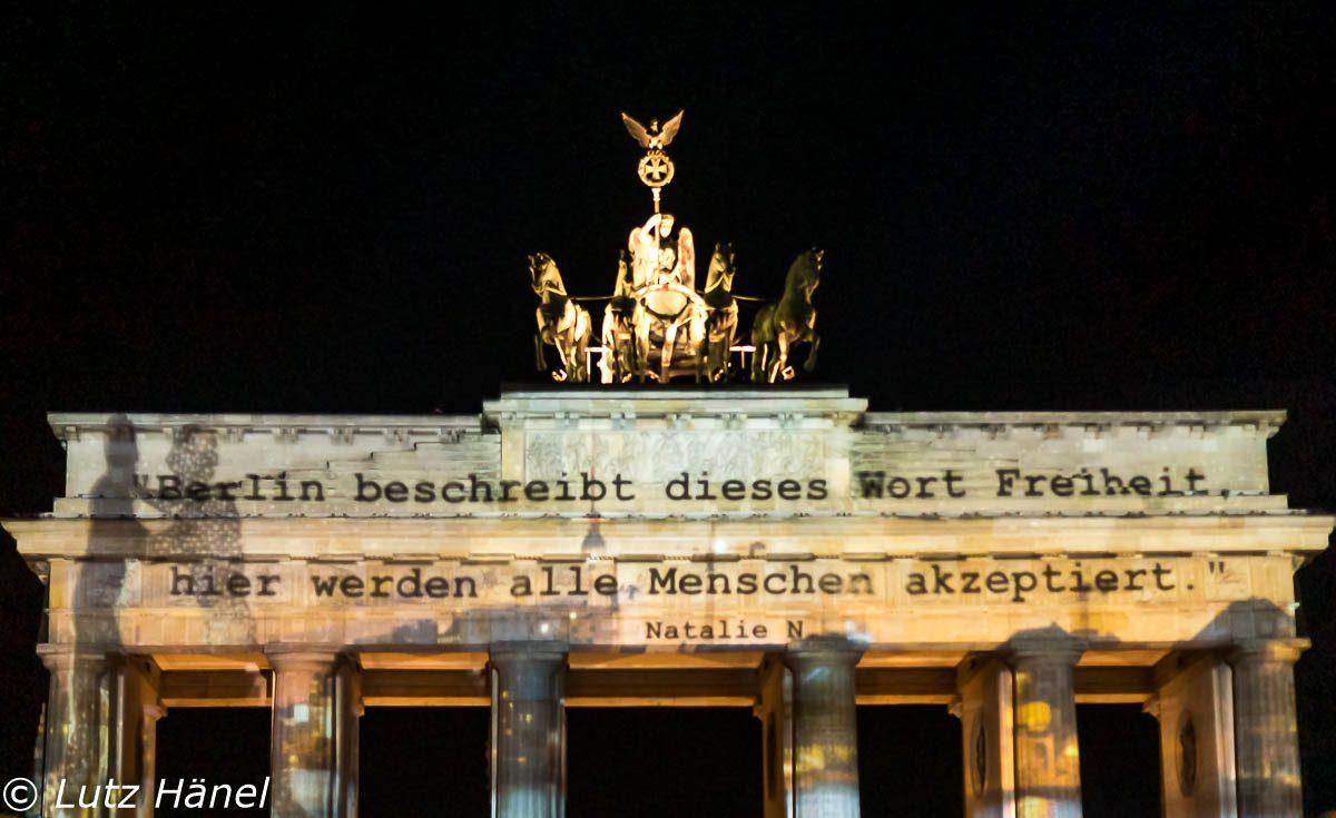 Berlin akzeptiert Freiheit