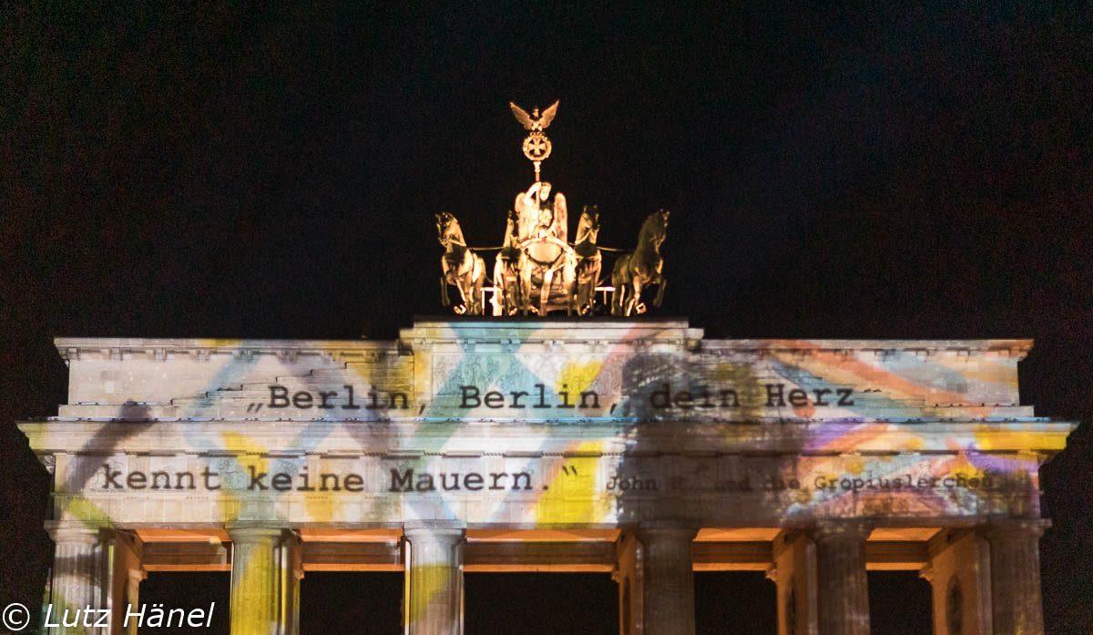 Berlin sein Herz kennt keine Mauern