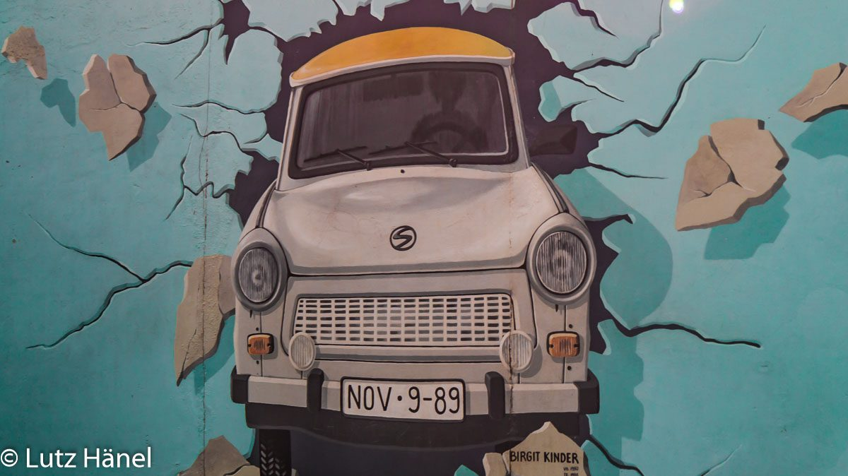 Foto von der East Side Gallery