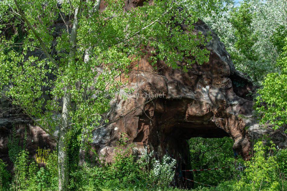 Die Alte Achterbahn des Kultur Parks