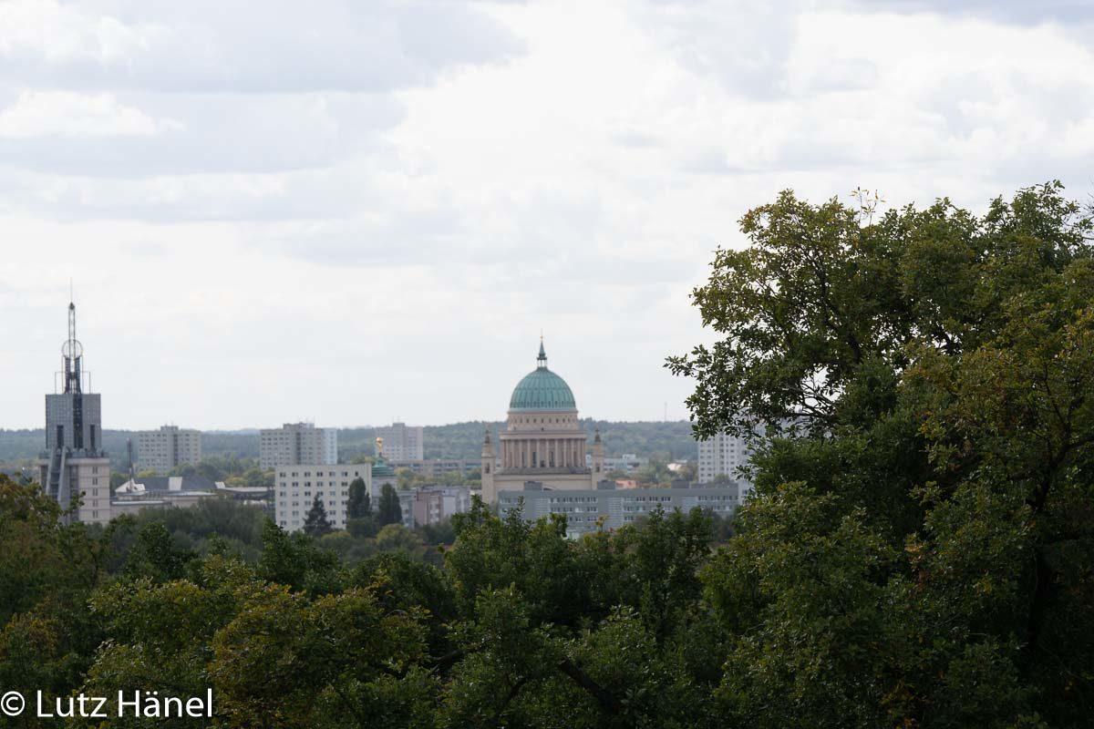 Park Babelsberg bietet tolle sichtachsen auf Potsdam