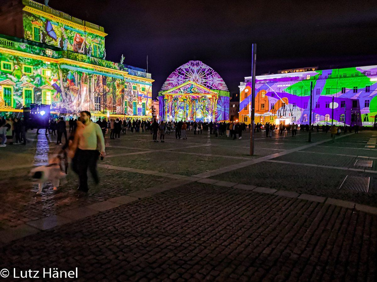 Der Bebelplatz ist einer meiner Highlight jedes Jahr bei Festival of Lights & Berlin Lleuchtet!