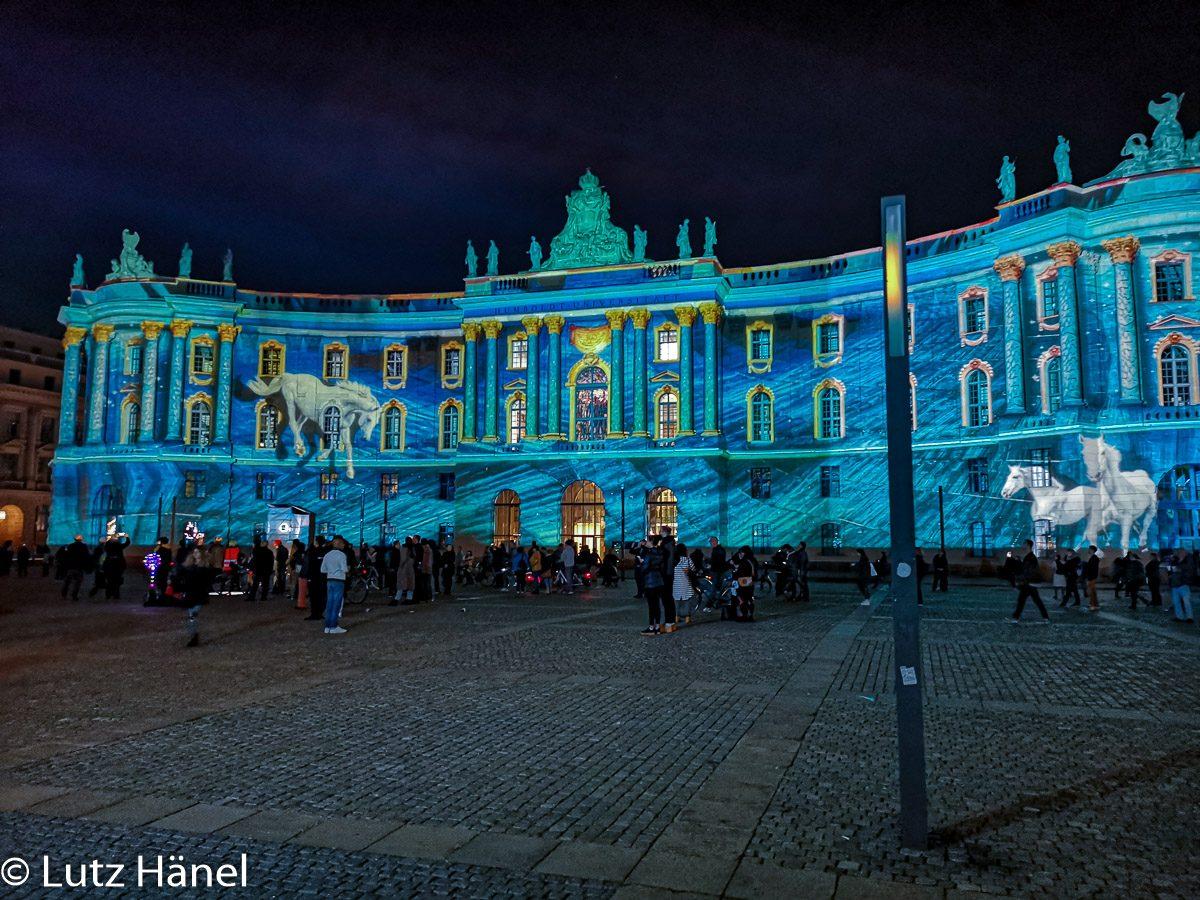 Foto Bebelplatz Festival of Lights & Berlin Leuchtet 2019