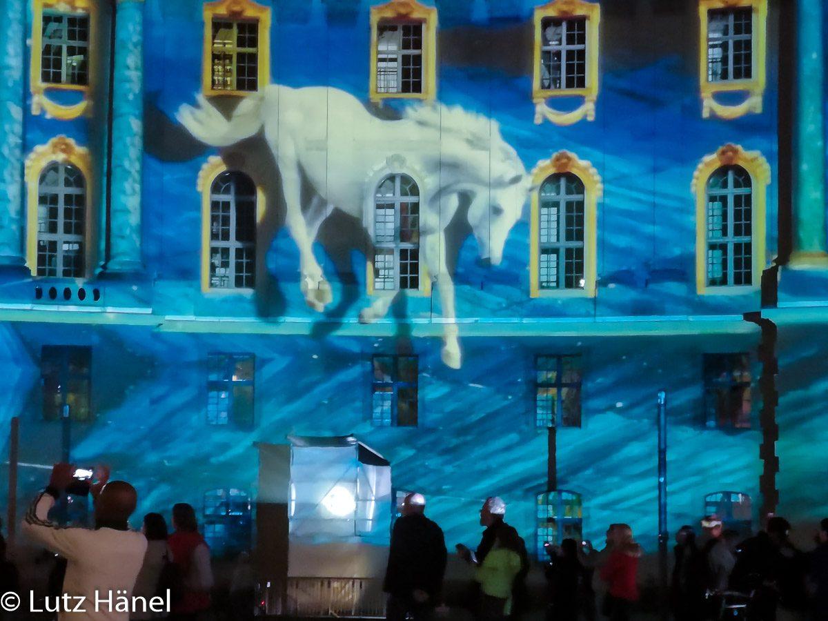 Ein Detail Foto vom Bebelplatz by Festival of Lights & Berlin Leuchte 2019t!