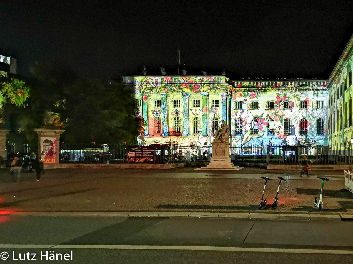 Foto von der Humboldt-Universität zu Berlin by Festival of Lights & Berlin Leuchtet.