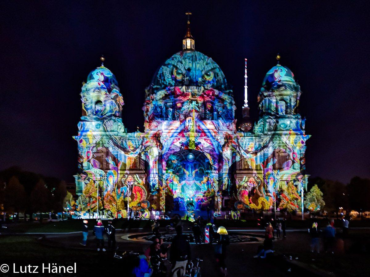 Dom von Berlin Foto 2019 auf dem Festival of Lights entstanden © Lutz Hänel
