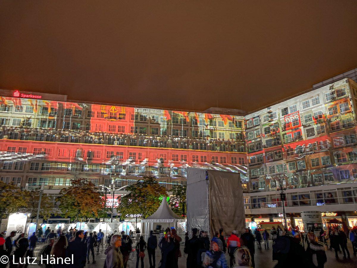 Alexanderplatz November 2019 lluminationen, mit Bildern Herbst 89