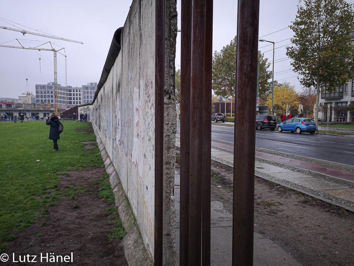 30 Mauerfall Bernauerstrasse Mauer Gedänkstätte 9.11.2019