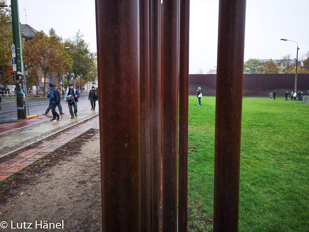 Bernauerstrasse Mauer Gedänkstätte 9.11.2019