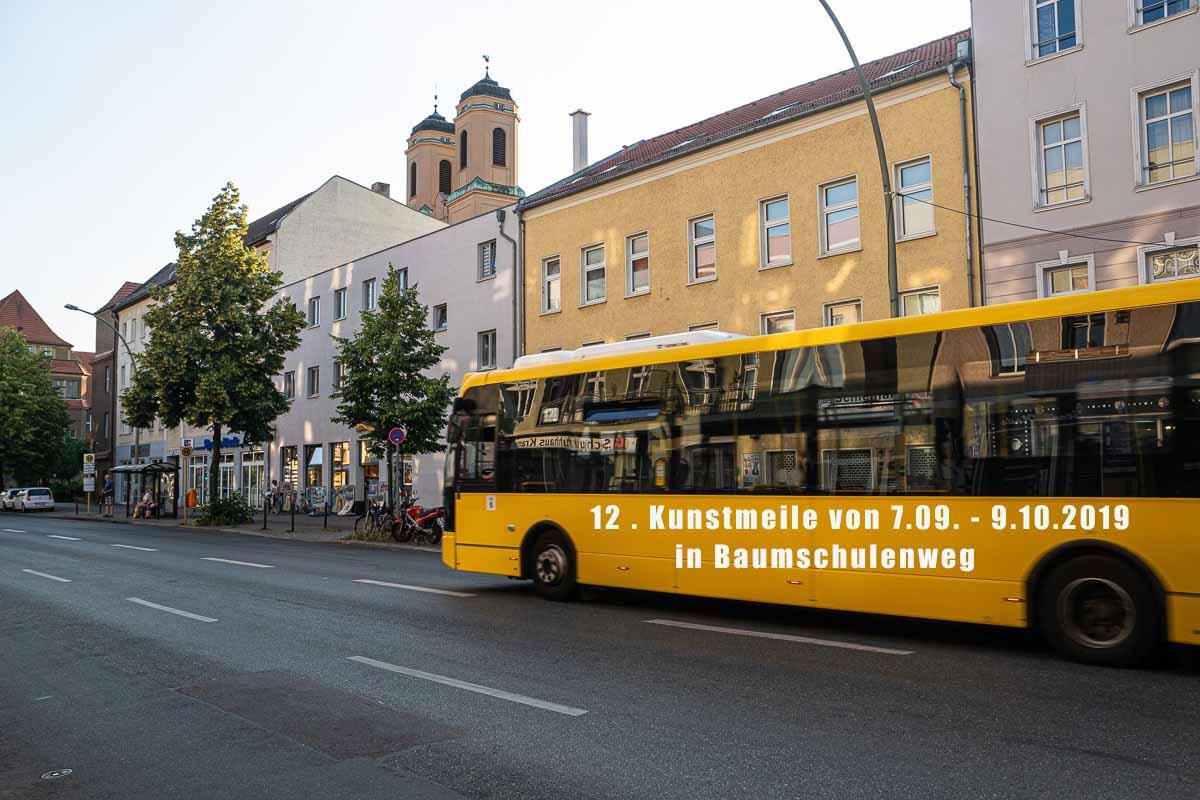 Wer hat den Bus mit der Aufschrift 12.Kunstmeile Gesehen?