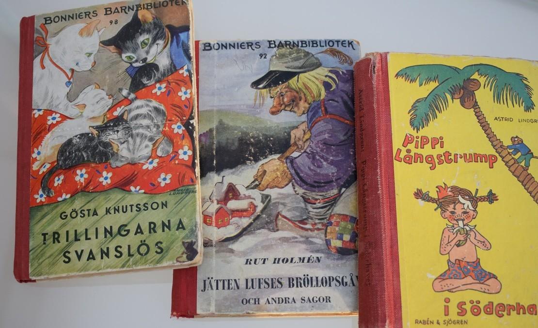 Äldre barnböcker