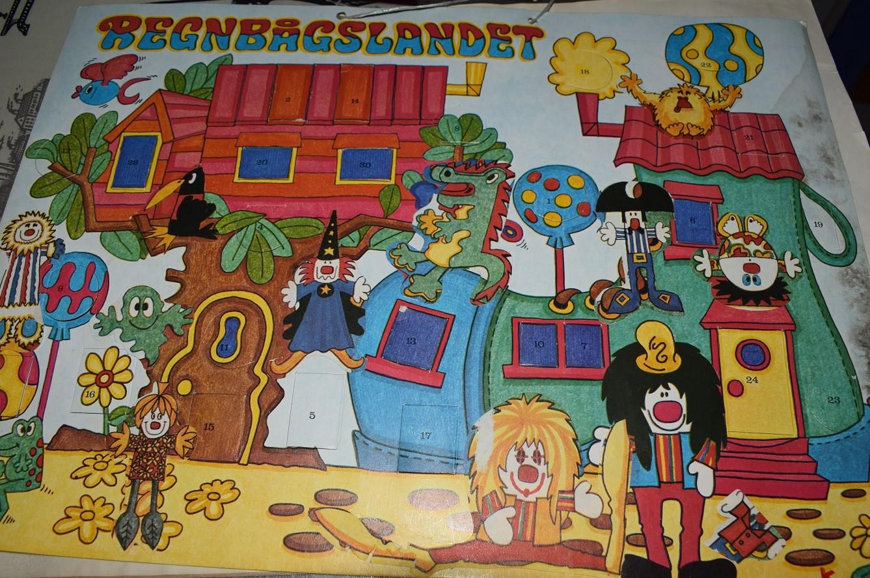 Julkalendern Regnbågslandet från 1970