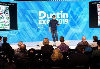 Tomas Bendz - VD på Time Traveller - Föreläser på Dustin Expo 2019