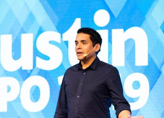 Tomas Bendz föreläser på Dustin Expo 2019