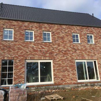 buitenschrijnwerk nieuwbouw woning