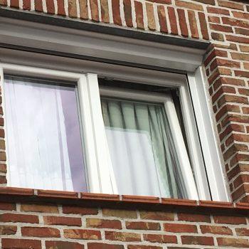 vervangen pvc raam met voorzetrolluik