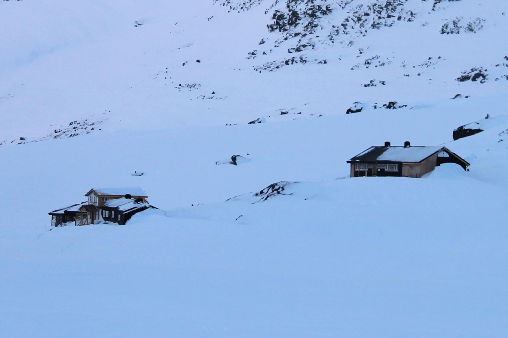 Olavsbu består av to hytter.