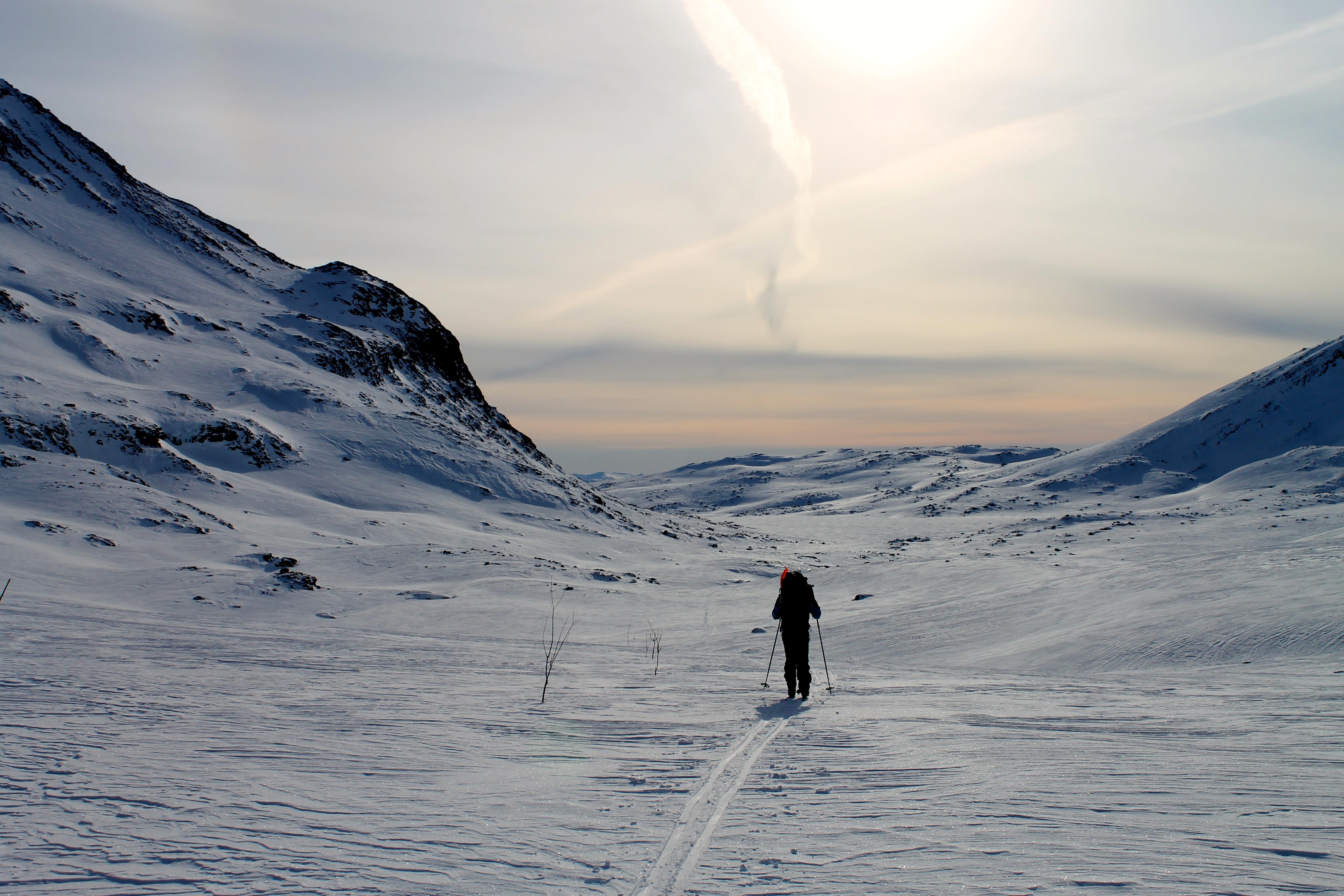 Turen mellom Eidsbugarden og Olavsbu er en fin skitur.