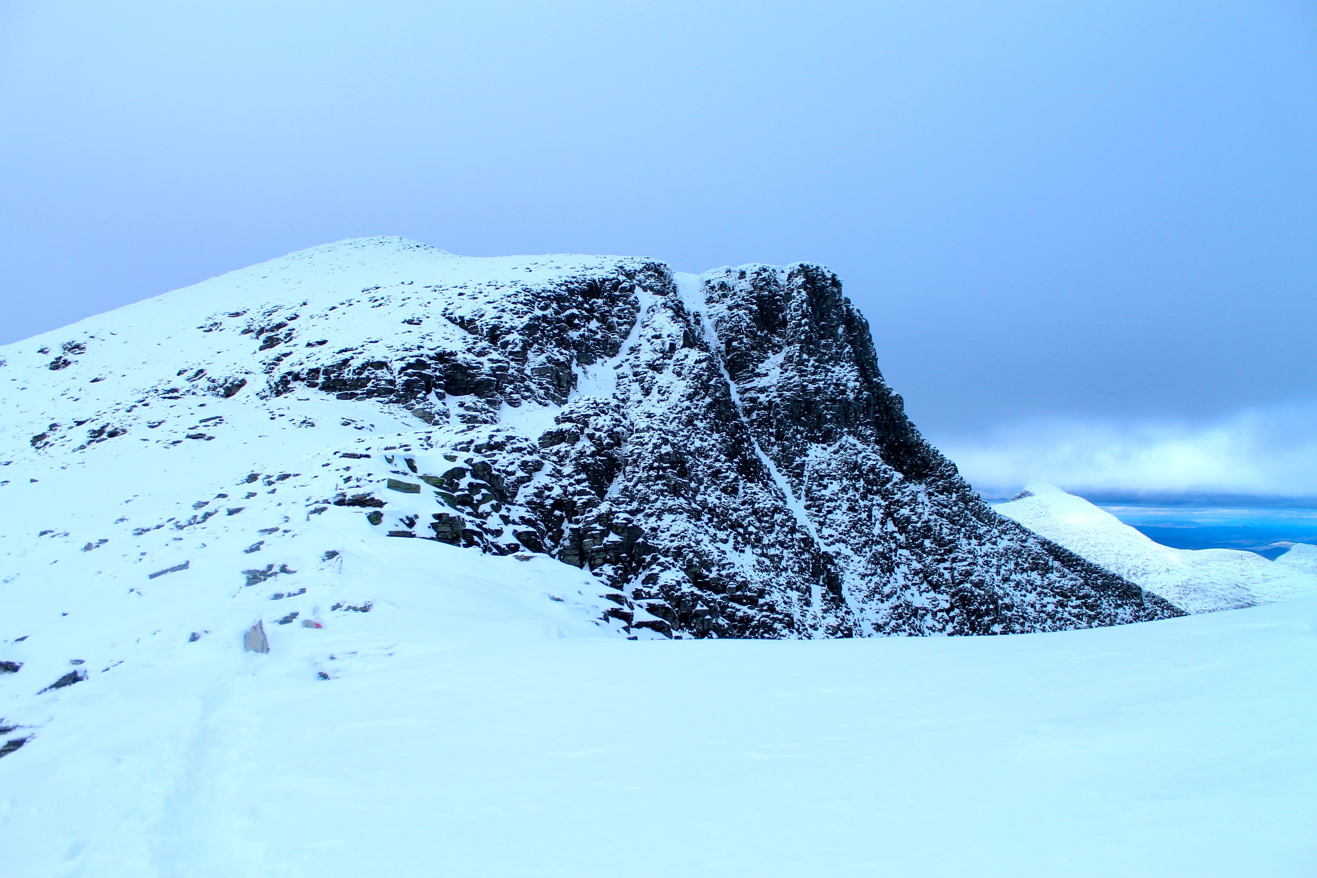 Toppen av Rondvassbu.