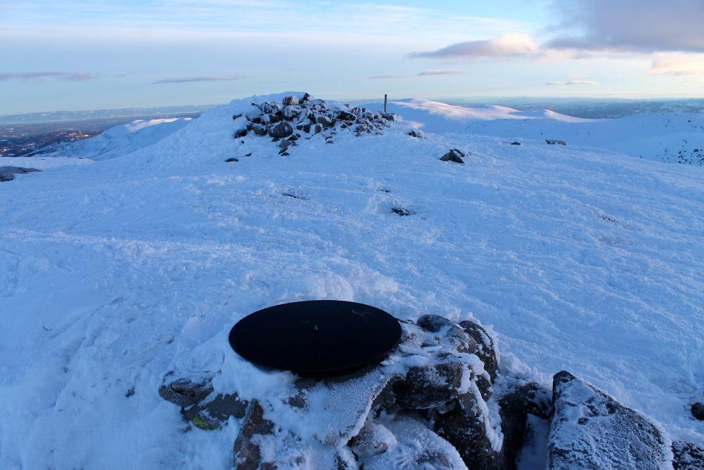 Toppen av Høgevarde.