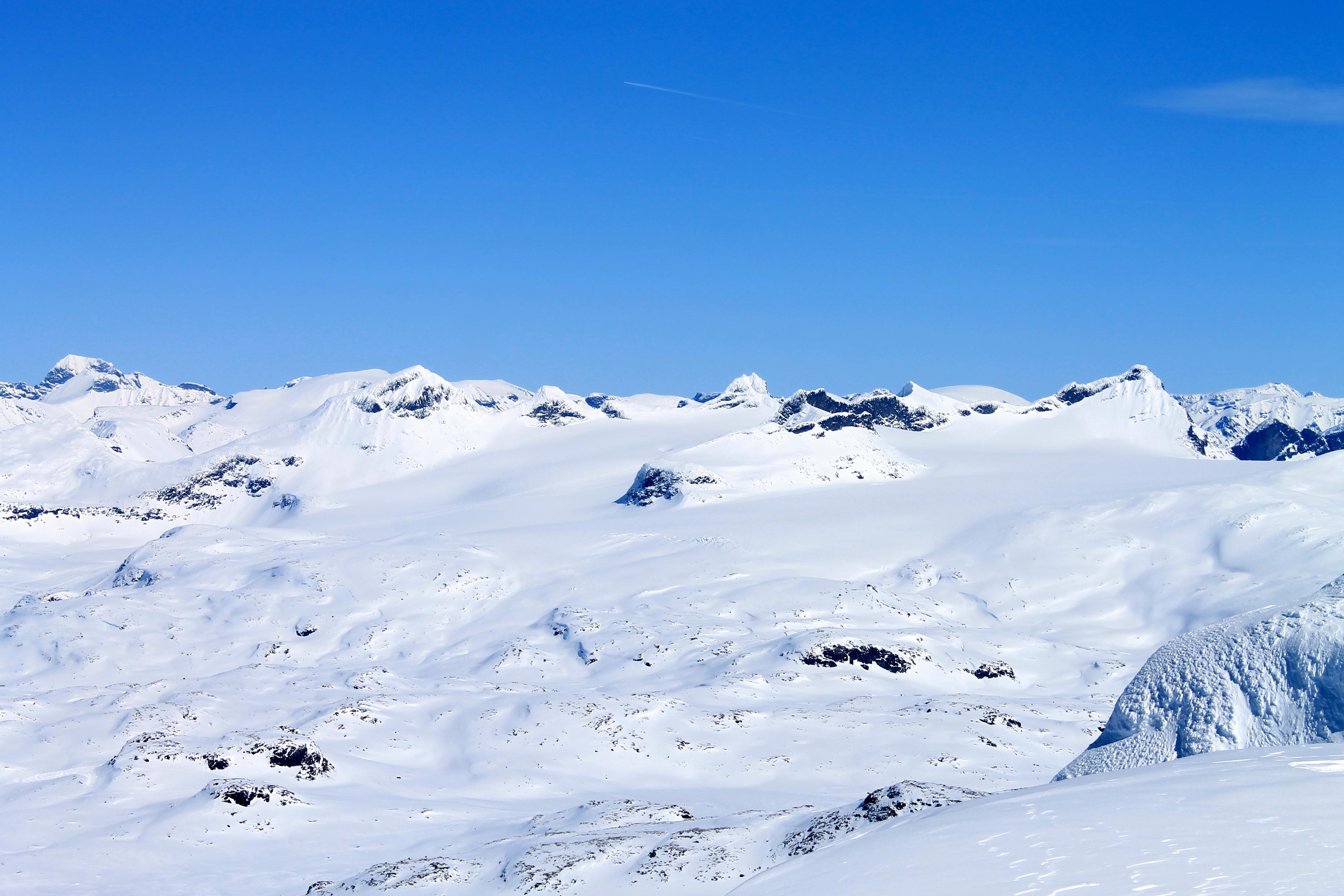 Smørstabbtindan sett fra toppen av Steindalsnosi.