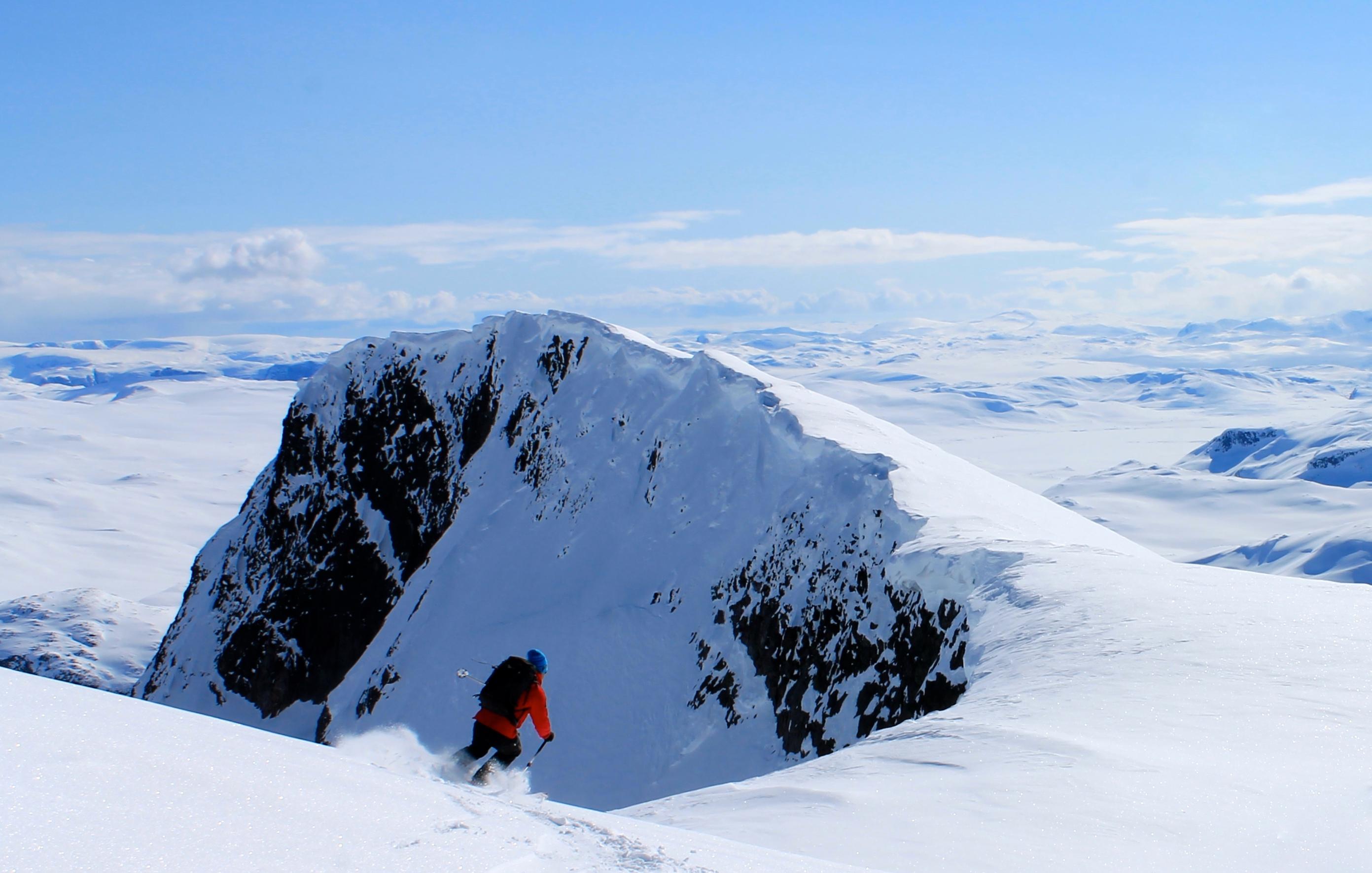 Galdeberget er en glimrende topptur ved Bygdin og nåes best fra Fondsbu.