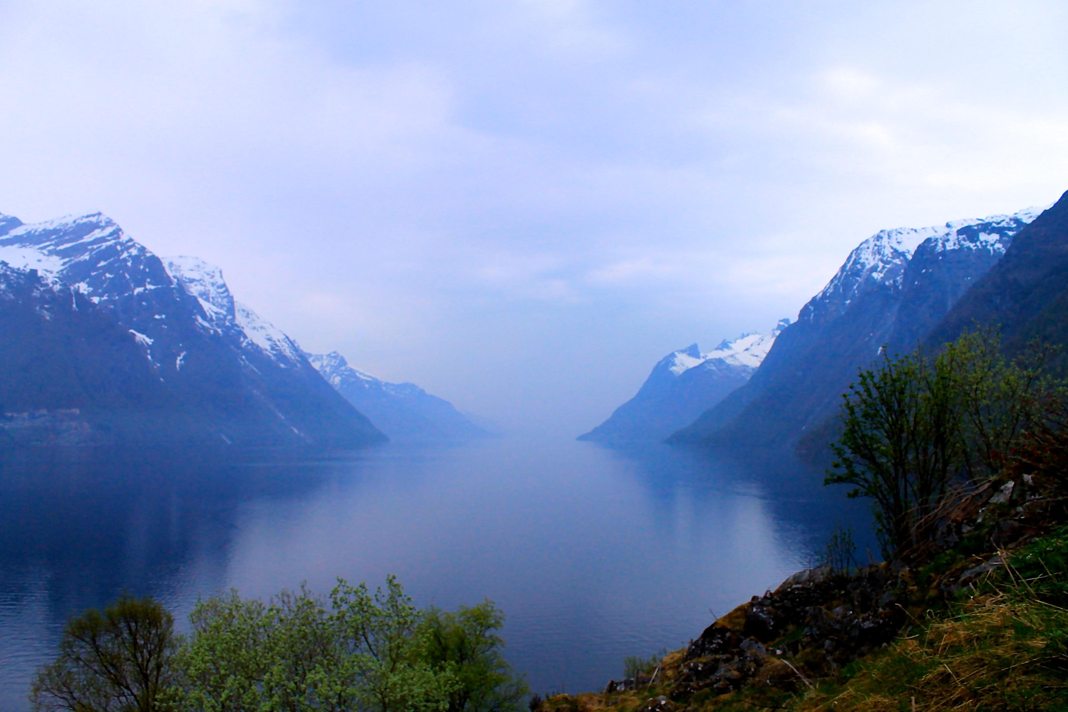 Hjørundfjorden i Sunnmørsalpene.