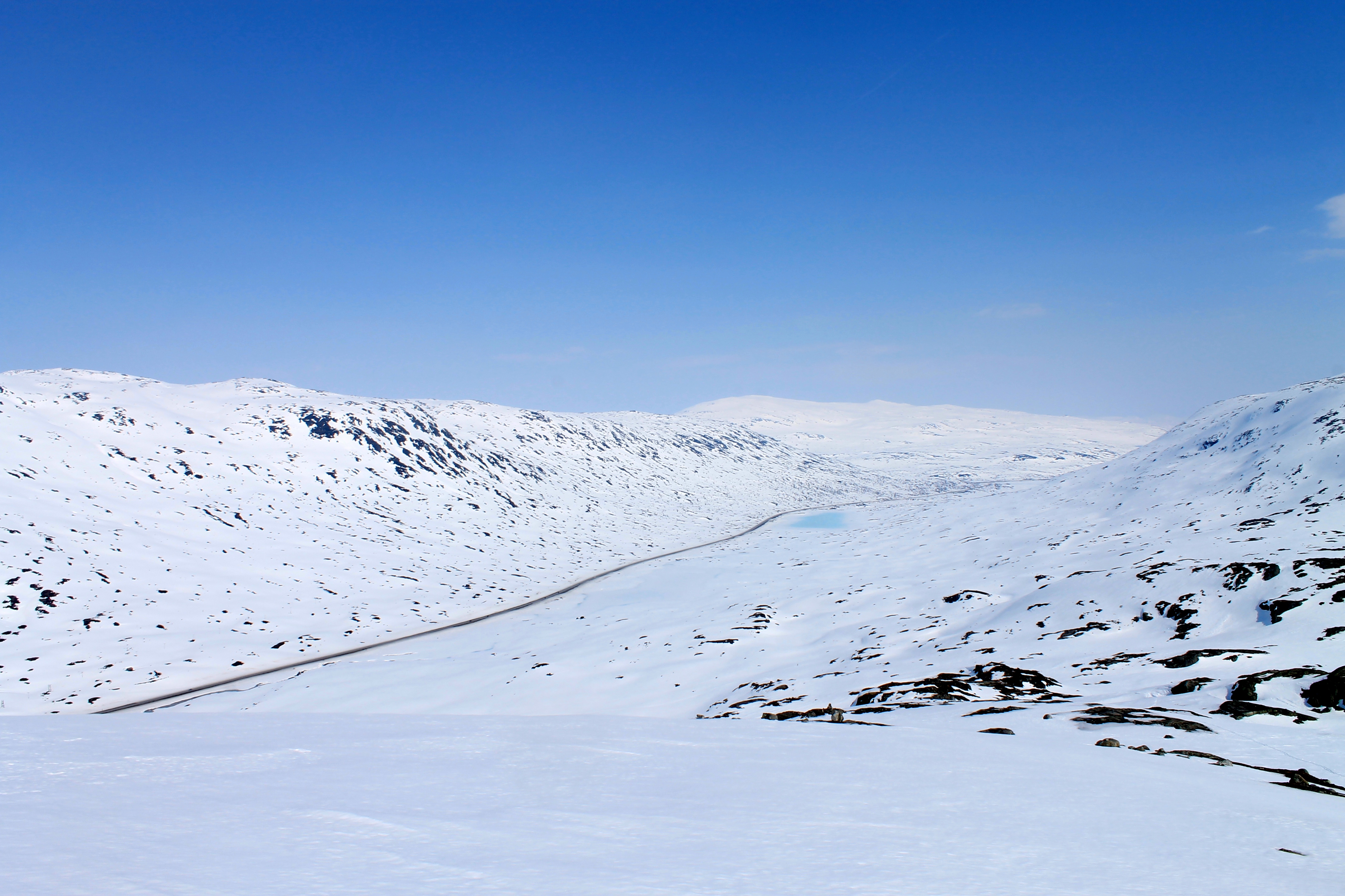 Fjellovergangen over Strynefjellet gjennom Breiddalen.