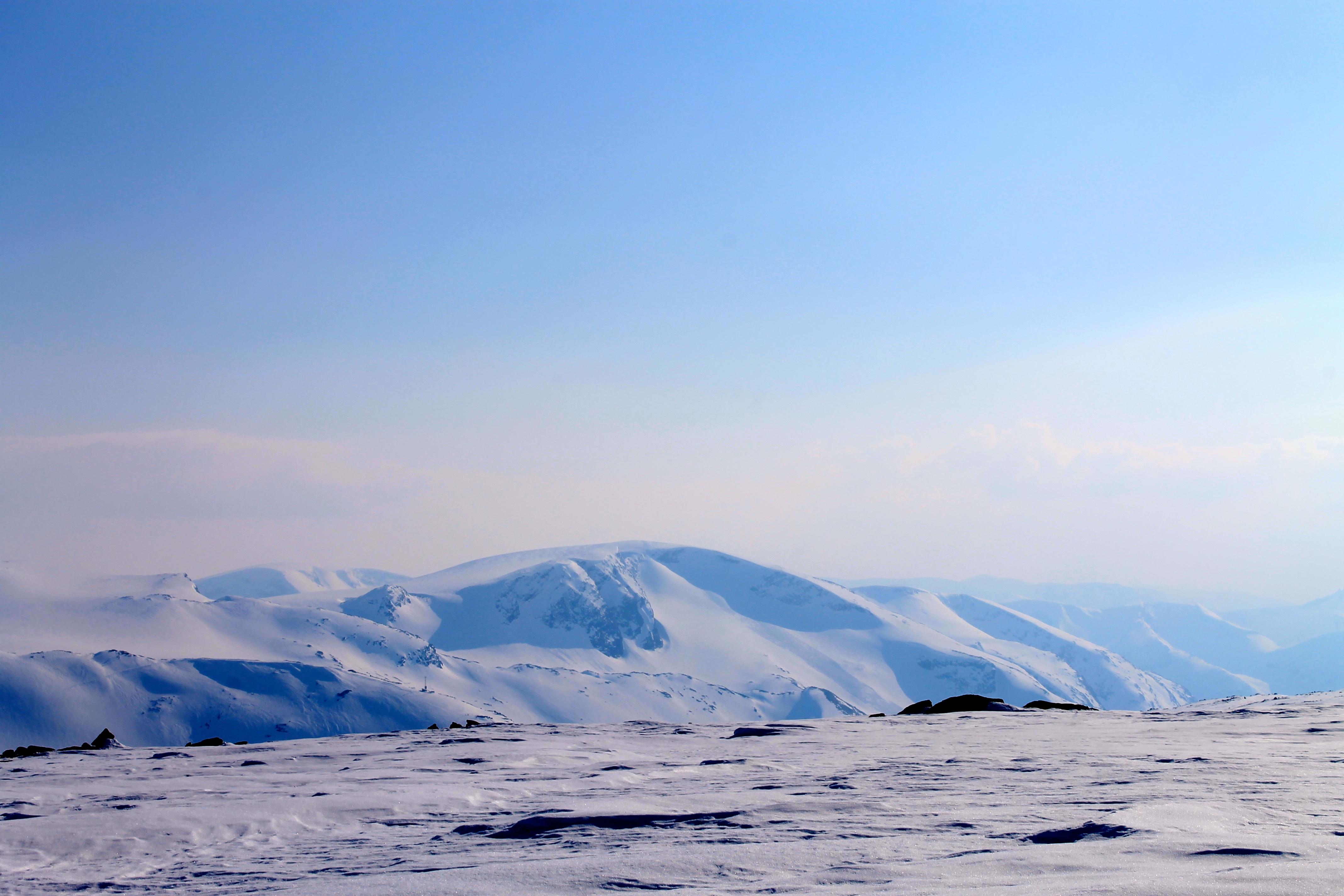Utsikt til Nuken på Strynefjellet fra Langvasseggi.