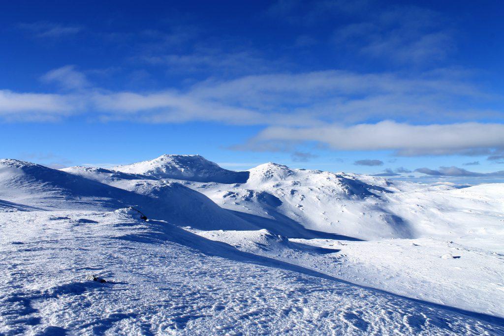 Gråfjell er den høyeste toppen på Norefjell.