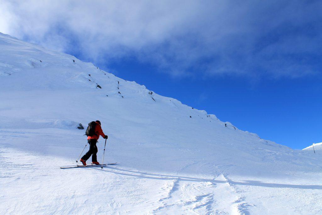 På vei opp mot toppen av Gråfjell.