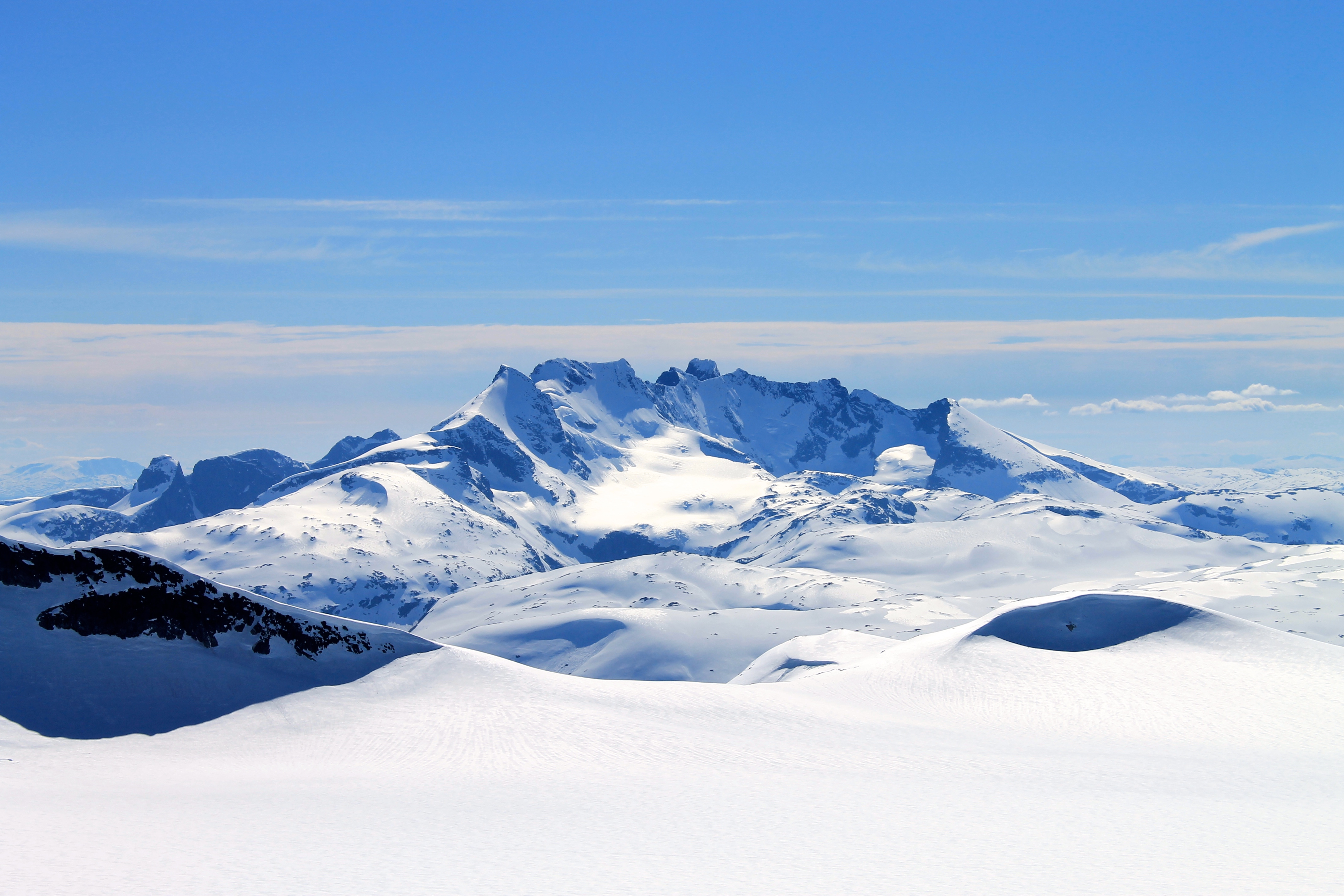 Hurrungane er det villeste fjellområdet i Norge.