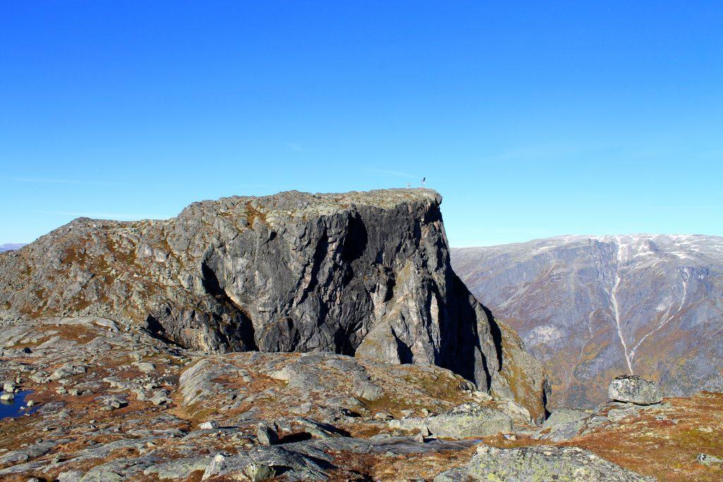 Øktarnuten er et flott utsiktspunkt innerst i Hardanger.