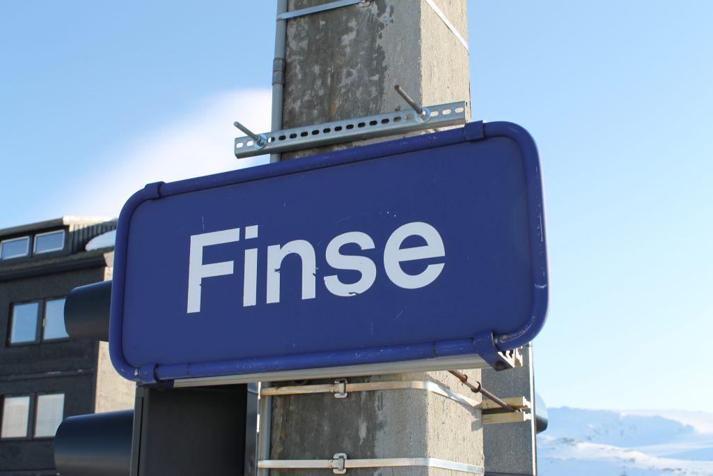 Finse stasjon (1.222 moh) er den høyest beliggende stasjonen på Bergensbanen.