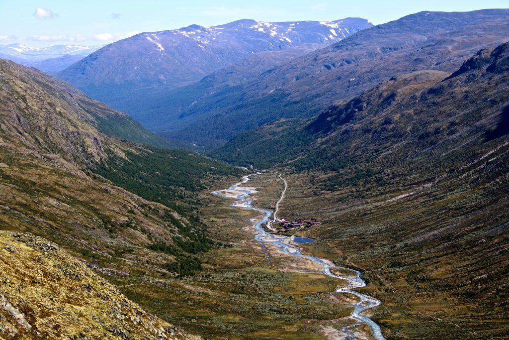 Spiterstulen i Visdalen sommerstid.