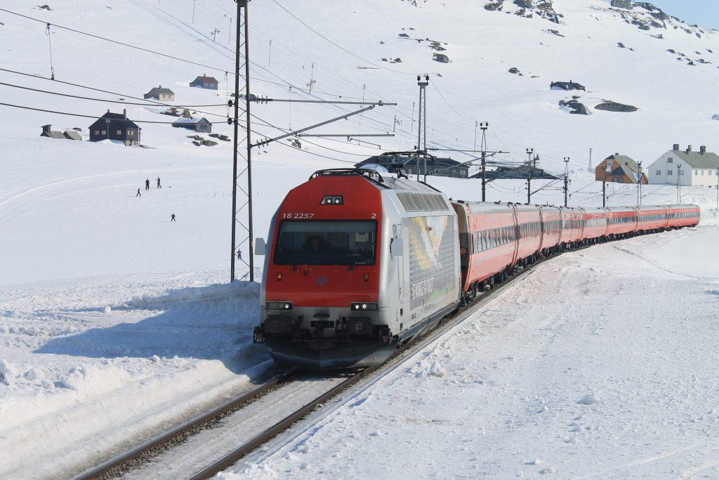 Toget og Bergensbanen spiller en helt sentral rolle for Finse.