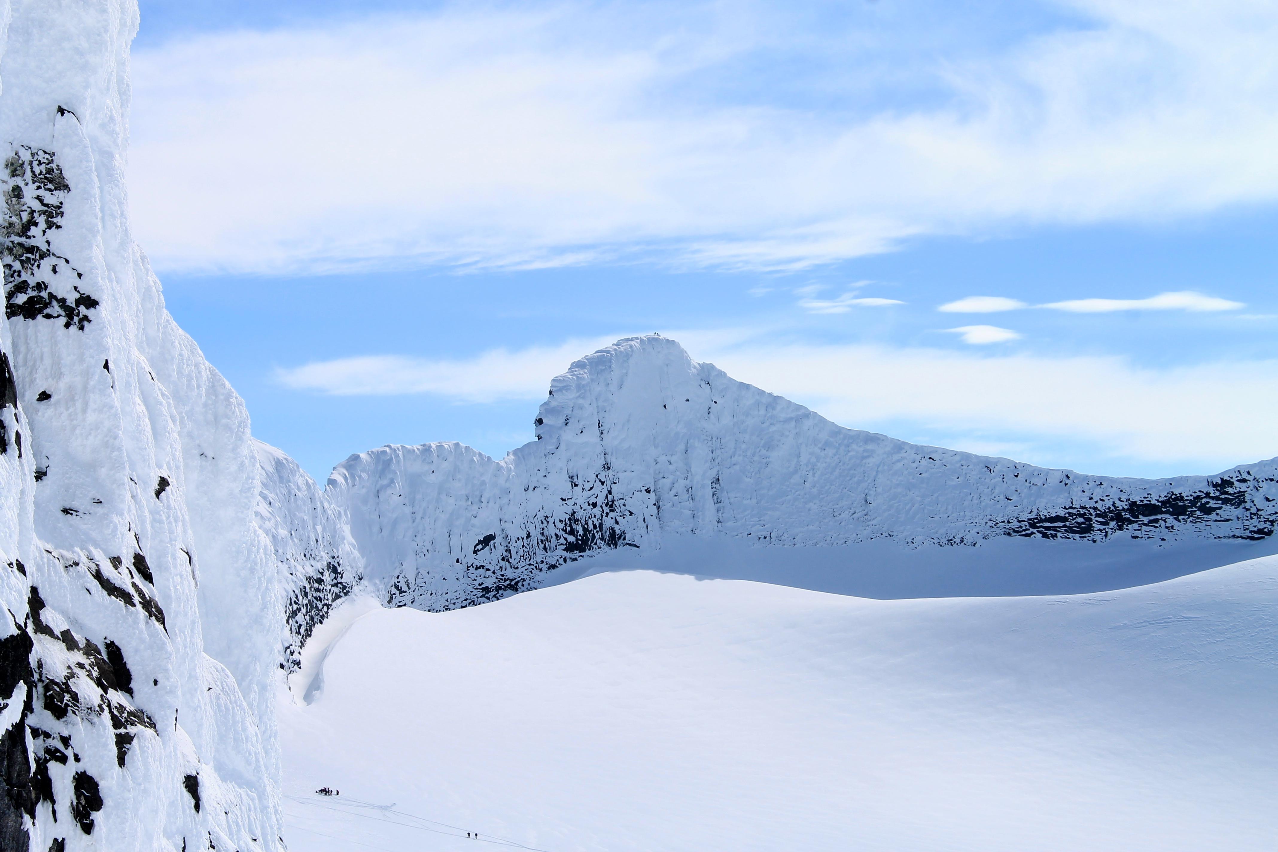 Bjørneryggen i Smørstabbtindmassivet, Jotunheimen.