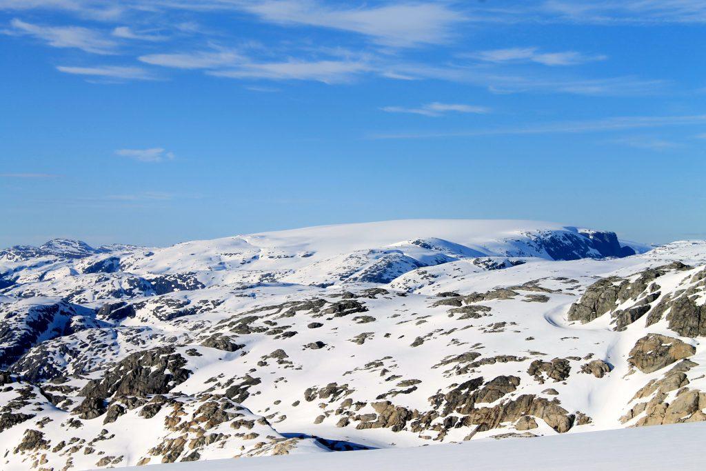 Nordfonna, den nordligste delen av Folgefonna.