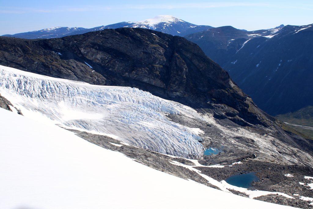 Eventyrisen er den nedre delen av Svellnosbrean, like ved Spiterstulen.