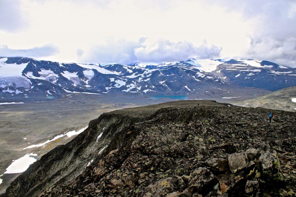 Vestryggen opp mot Ryggjehøe (2.142 moh).