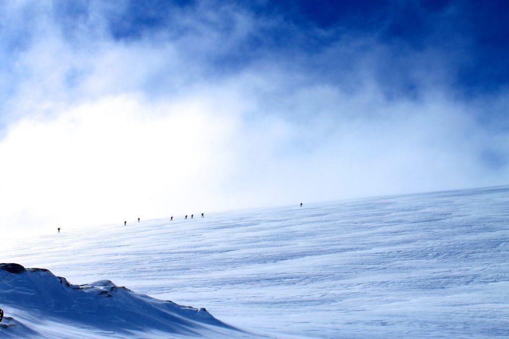 En kryssing av Hardangerjøkulen fra nor til sør er en flott tur fra Finse.