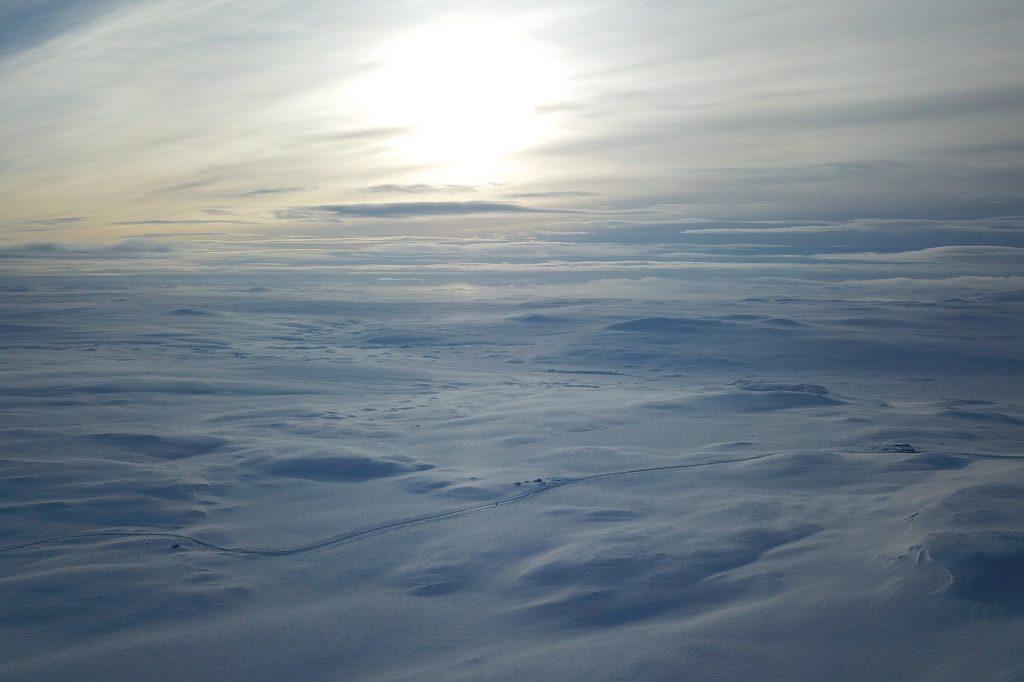 Hardangervidda på langs er en strabasiøs ferd mellom Finse og Haukeli. Her fra Dyranut.