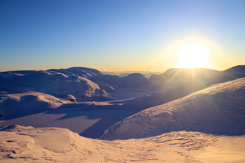 Vassfjøra (1.633 moh) bak i bildet, her sett fra Øykjafonn.