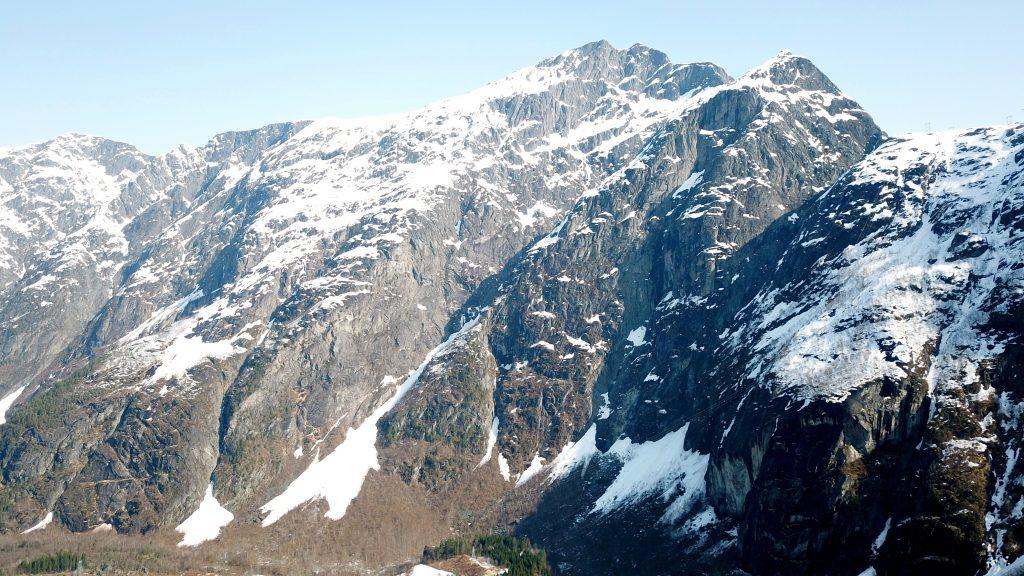 Blånebba sett fra Romsdalen.
