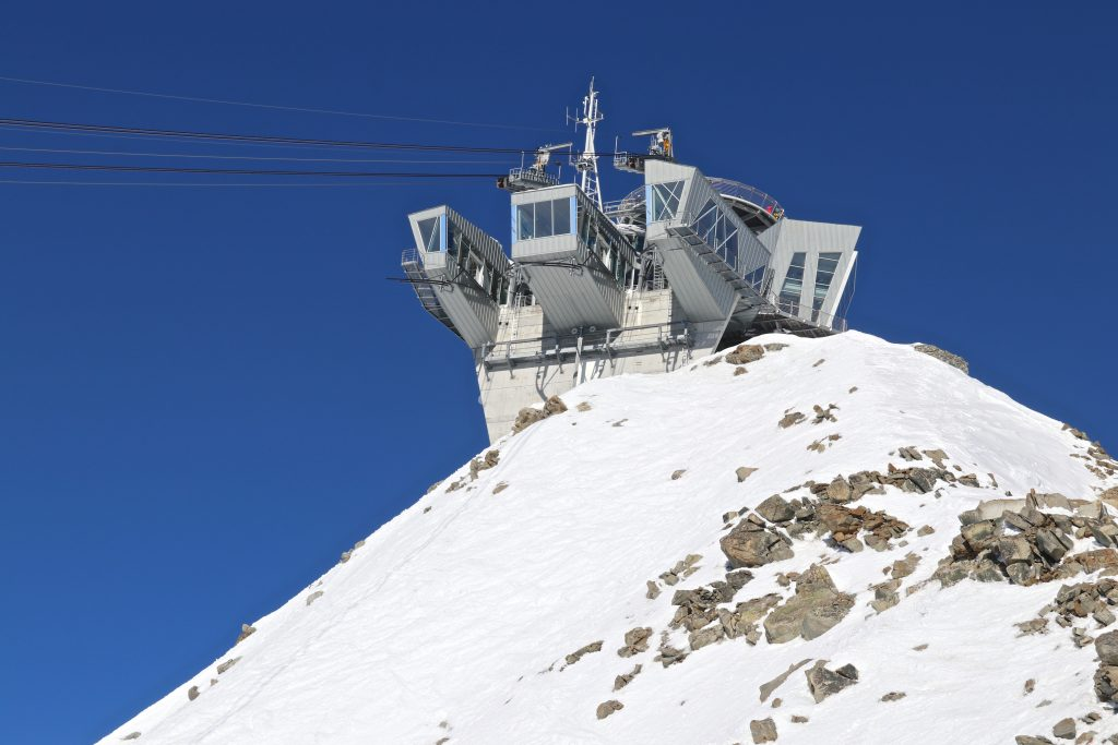 Den nye kabelbanen Skyway Monte Bianco er den Italienske kabelbanen opp i Mont Blanc-massivet.