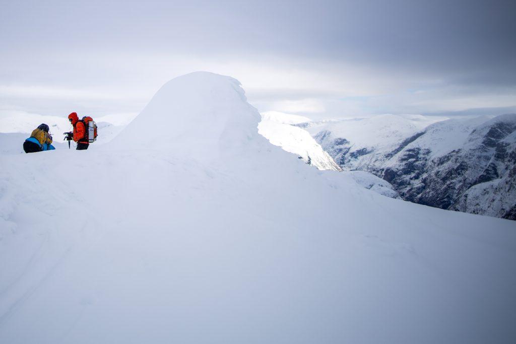 Toppen av Brekkenipa 1.194 moh.