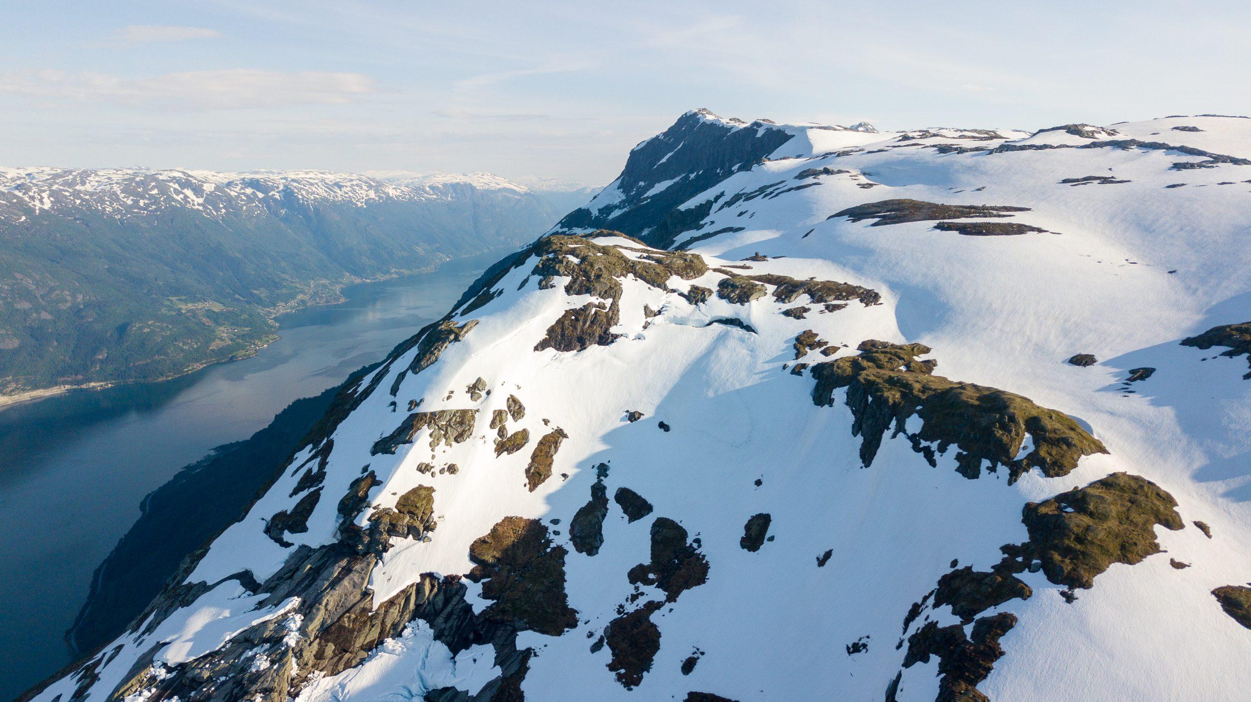 Rundenuten er et godt utsiktspunkt over Sørfjoren og vel verdt en tur.